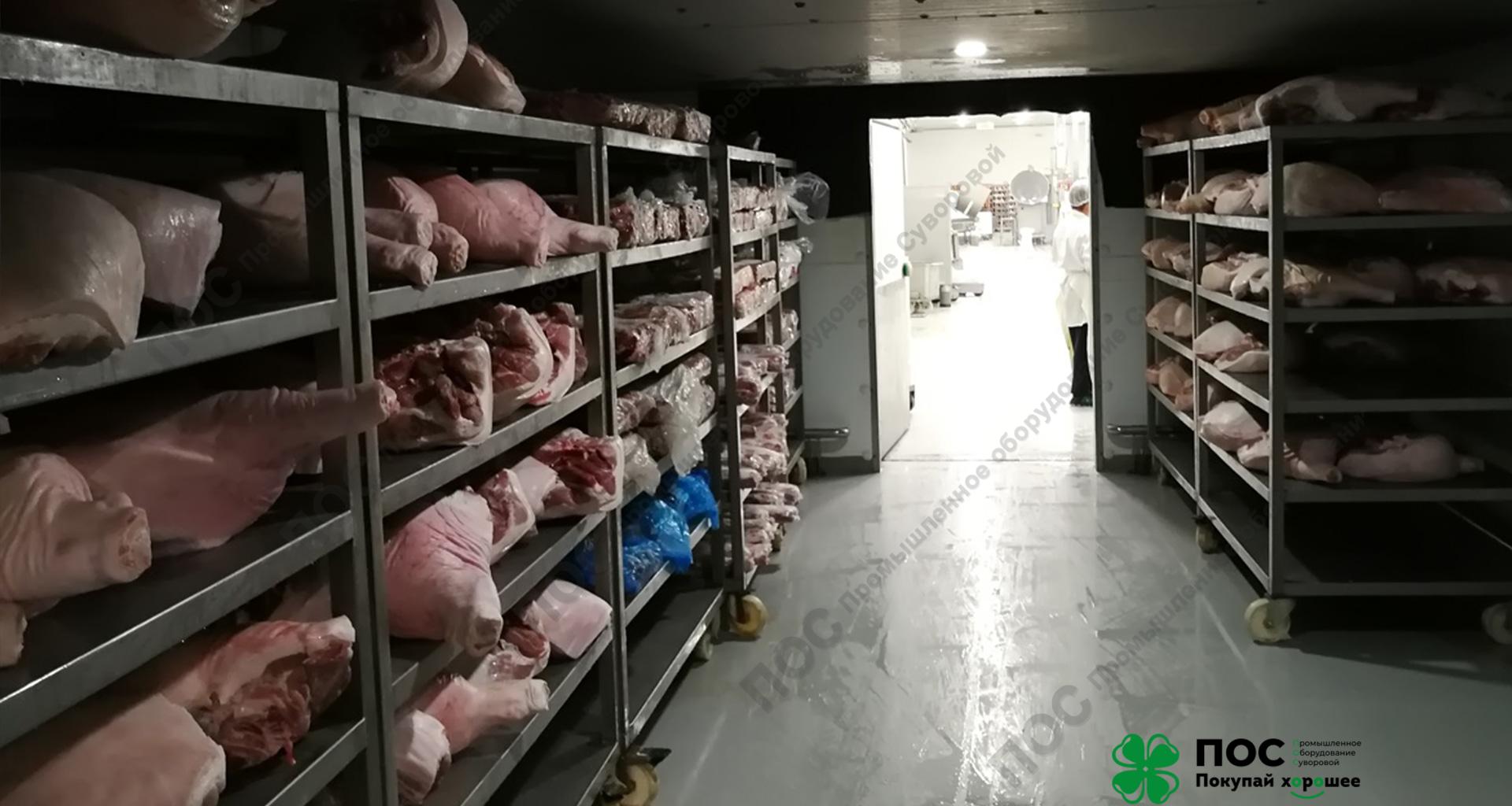 Дефростация мяса и птицы (курицы, индейки)
