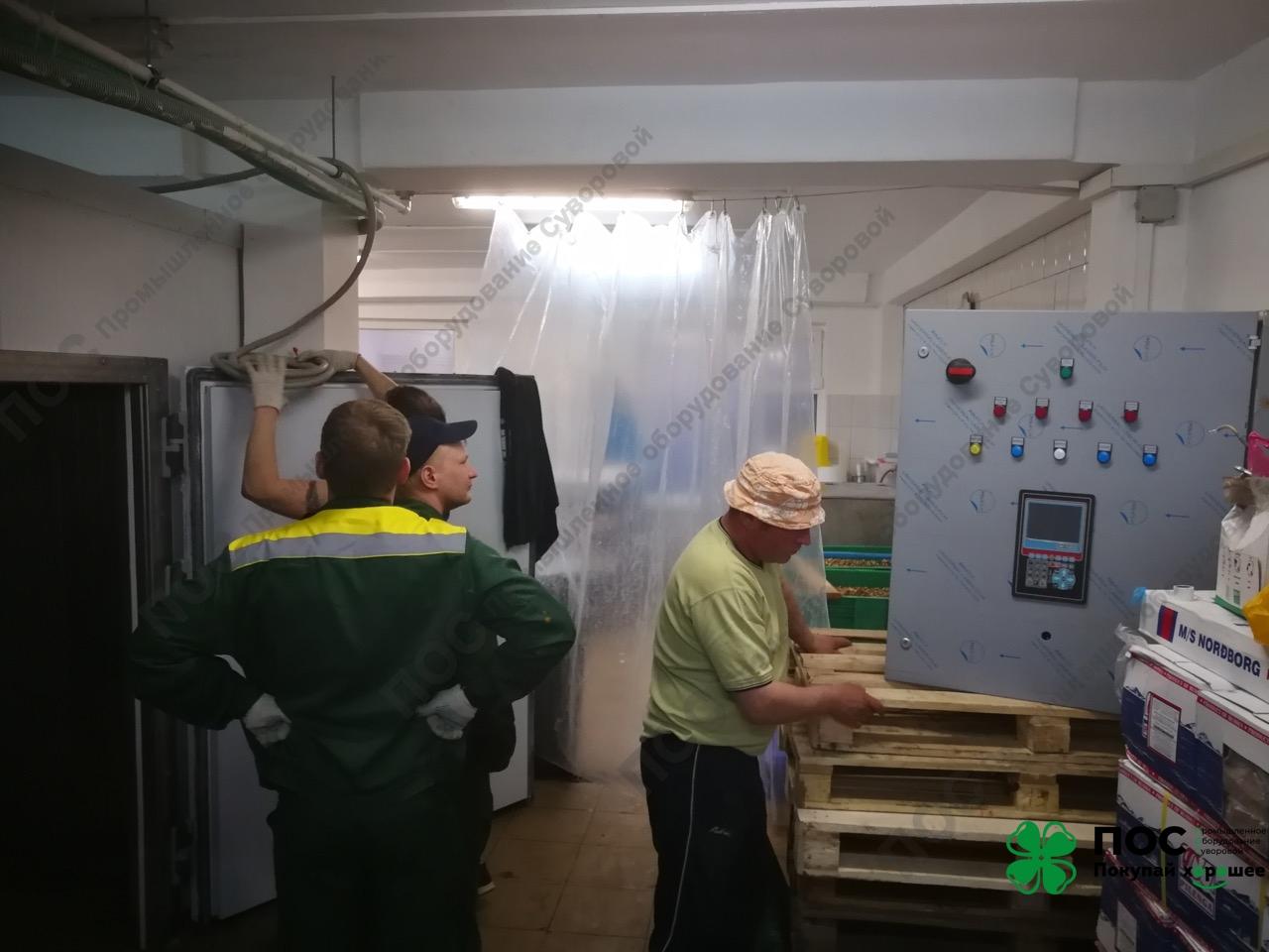 15.05.2018/ В мае 2018 года на рыбозаводе в ГолициноМосковской области был введен в эксплуатацию дефростер для рыбы, икры и морепродуктов.