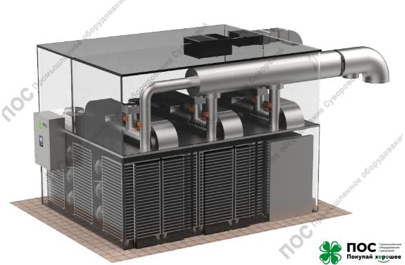 25.05.2020 / Запущена в производство уникальная камера вяления УВР-5 СТАНДАРТ с функцией вяление рыбы и рыбной палочки по весу.