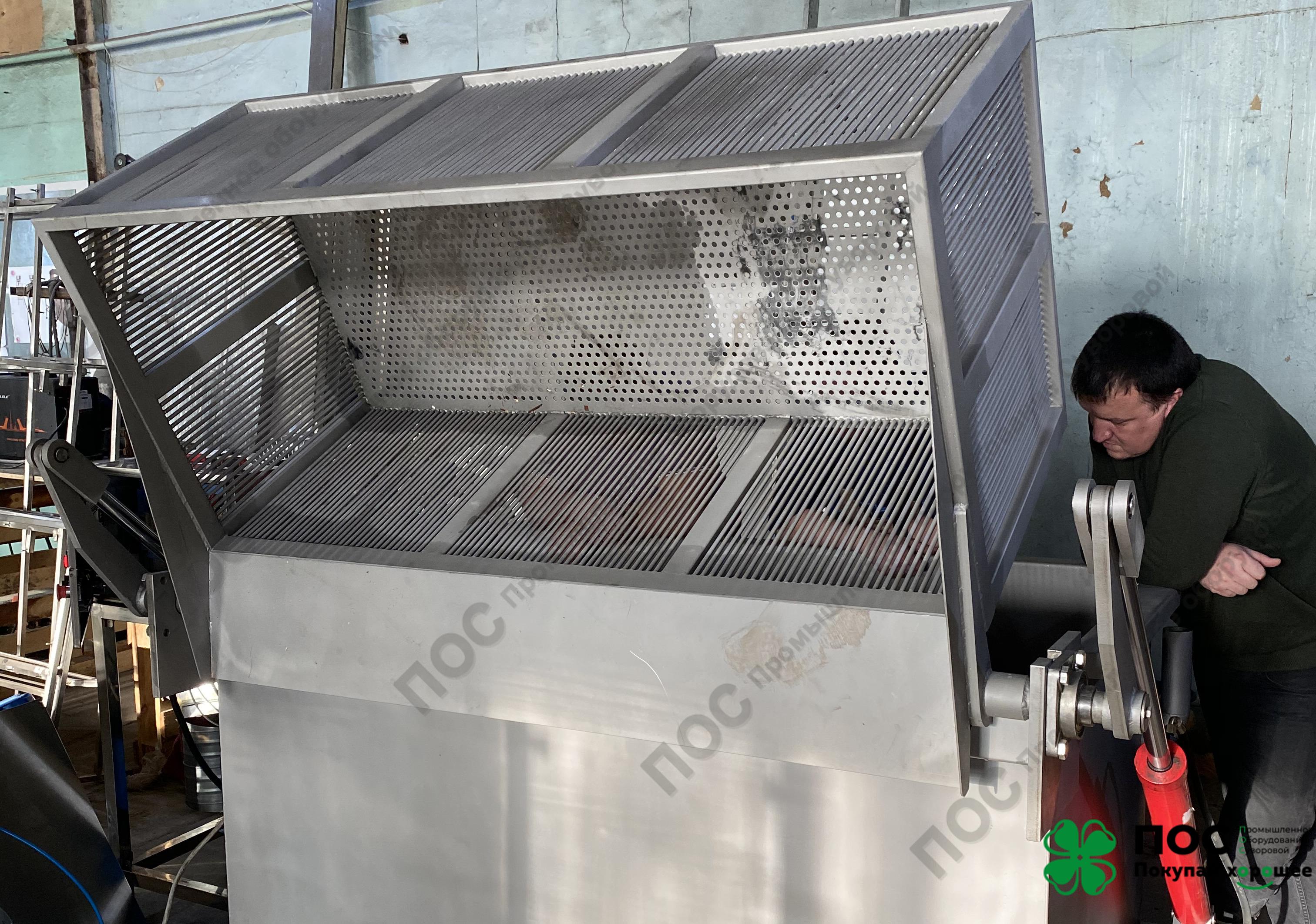 19.11.2020 / Водяной дефростер с опрокидывающейся емкостью модель ДВО-700 готов к отгрузке.